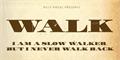 Illustration of font WALK Personal Use