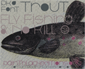 Illustration of font Trout