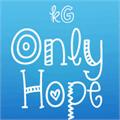 Illustration of font KG Only*Hope