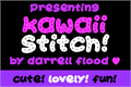 Illustration of font Kawaii Stitch