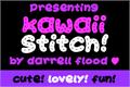 Illustration of font Kawaii Stitch