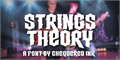 Illustration of font Strings Theory