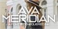 Illustration of font Ava Meridian