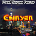 Illustration of font Chinyen