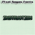 Illustration of font Instruction