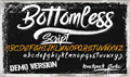 Illustration of font Bottomless Script