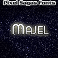Illustration of font Majel