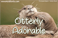 Illustration of font Otterly Adorable