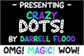 Illustration of font Crazy Dots