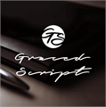 Illustration of font Graced Script PERSONAL USE