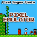 Illustration of font Pixel Emulator
