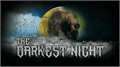 Illustration of font The Darkest Night