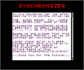 Illustration of font Synchronizer NBP