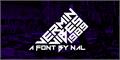 Illustration of font Vermin Vibes 1989