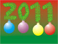 Illustration of font CHRISmas3