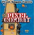 Illustration of font Pixel Combat