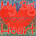 Illustration of font My Big Heart Demo