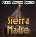 Illustration of font Sierra Madre
