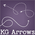 Illustration of font KG Arrows