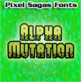 Illustration of font Alpha Mutation