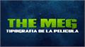 Illustration of font The Meg