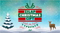 Illustration of font Zilap Christmas Gift Personal U