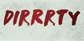 Illustration of font DK Dirrrty