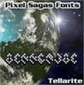 Illustration of font Tellarite