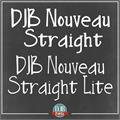 Illustration of font DJB Nouveau Straight