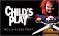 Illustration of font Child's Play