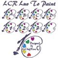 Illustration of font LCR Luv To Paint