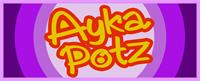 Sample image of AykaPoTz font by VVB DESIGNS