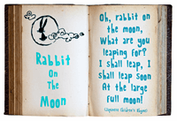 Sample image of Rabbit On The Moon font by David Kerkhoff