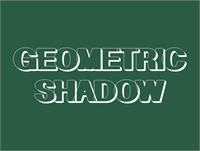 Sample image of Geometric Shadow font by Intellecta Design