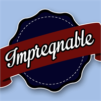 Sample image of Impregnable Personal Use Only font by Måns Grebäck