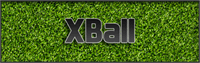 Sample image of XBall font by Pixel Sagas