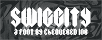 Sample image of Swiggity font by Chequered Ink