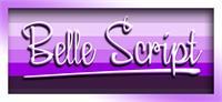 Sample image of Belle Script font by VVB DESIGNS