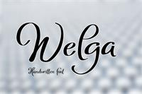 Sample image of Welga font by Eva Barabasne Olasz