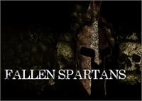 Sample image of Fallen Spartans font by Font Monger
