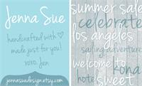 Sample image of Jenna Sue font by Jenna Sue Design Co.