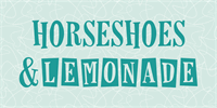 Sample image of Horseshoes And Lemonade font by Lauren Ashpole