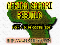 Sample image of Afrika Safari Rebuild St font by Southype