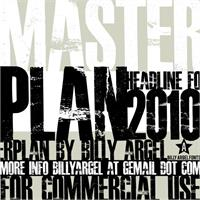 Sample image of MASTERPLAN font by Billy Argel