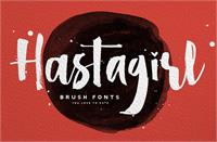 Sample image of Hastagirl One DEMO font by Konstantine Studio