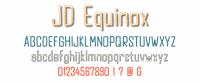 Sample image of JD Equinox font by Jecko Development