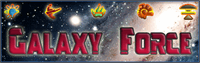 Sample image of Galaxy Force font by Pixel Sagas
