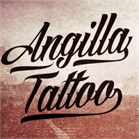 Sample image of Angilla Tattoo Personal Use  font by Måns Grebäck