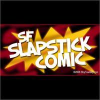 Sample image of SF Slapstick Comic font by ShyFoundry