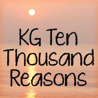 Sample image of KG Ten Thousand Reasons font by Kimberly Geswein